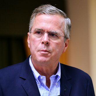 Jeb Bush Visits Miami School
