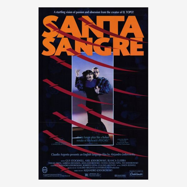 'Santa Sangre' (1989), Directed by Alejandro Jodorowsky