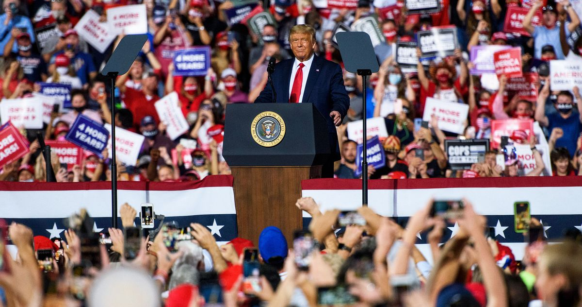 Trump Rallies Leave Trail of COVID Spikes in Their Wake