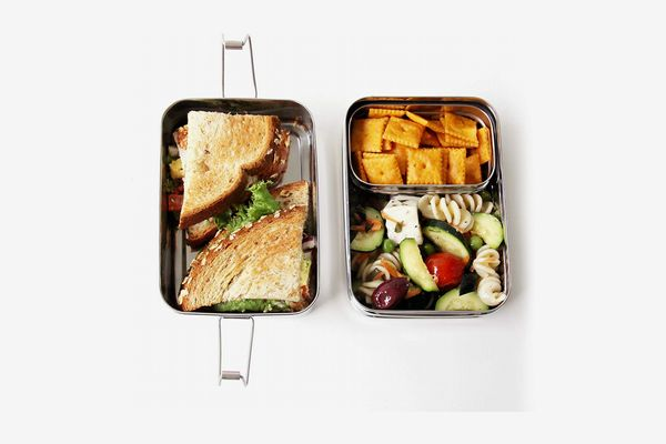 ECOlunchbox Three-in-One Stainless Food Canister & Lunch Box