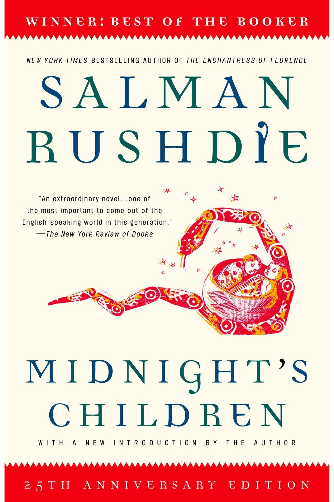 <em>Midnight's Children</em> by Salman Rushdie