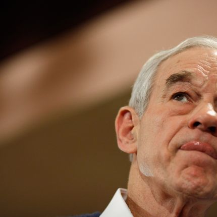 Ron Paul's a crafty one. (Chip Somodevilla/Getty Images)
