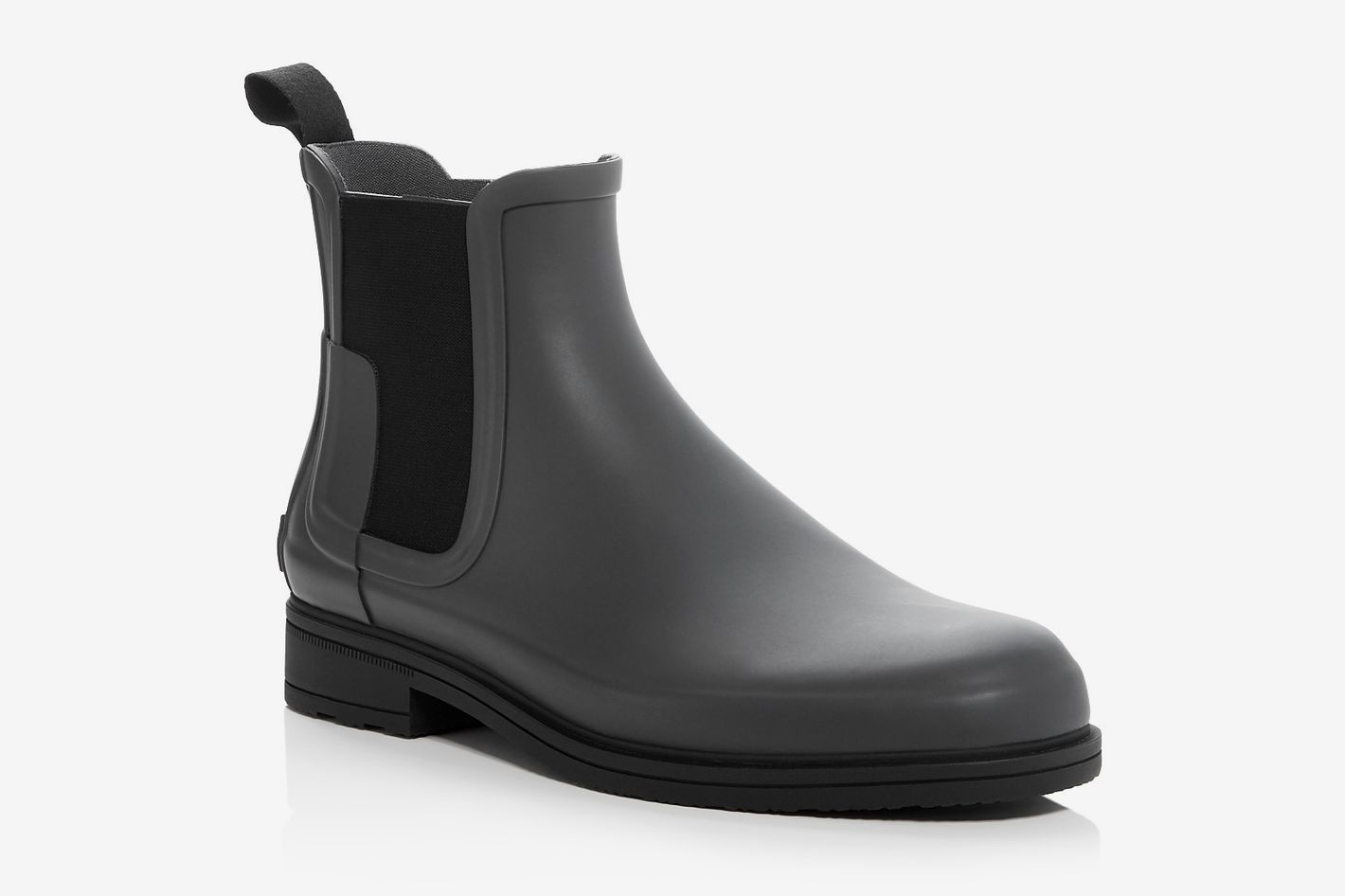 Hunter men's rain boots