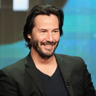 BEVERLY HILLS, CA - AUGUST 06: Host/producer Keanu Reeves speaks onstage during the