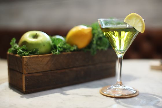 The kale martini.