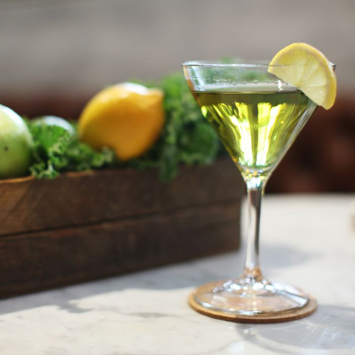 The kale martini.