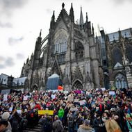Women Protest Cologne Sex Attacks