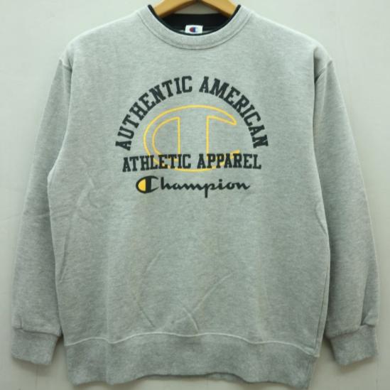 Vintage Champion Big Logo Pull Over Sweatshirt