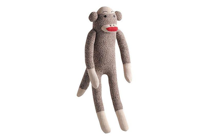 Multipet International Sock Monkey Dog Toy