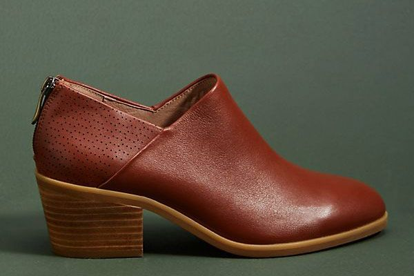 Anthropologie Bekah Leather Ankle Boots