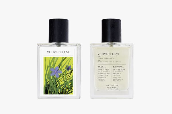 The 7 Virtues Vetiver Elemi Eau de Parfum