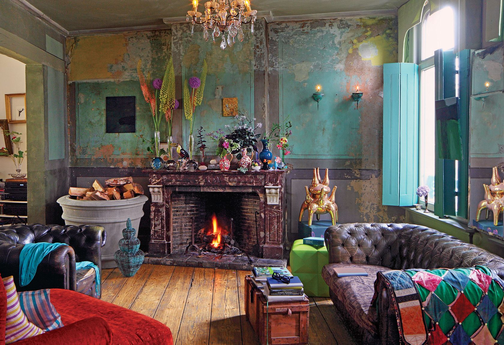That Old House The Tulip Trade Living Room