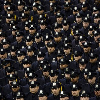 Homeland Security Chief Jeh Johnson Addresses NYPD Academy Graduation Ceremony