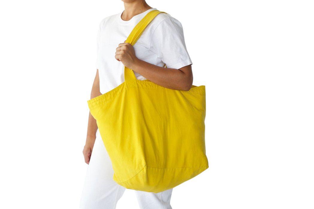 White Market Bag Yellow Beach Bag Pink Orange Gym Carrier Tote Green