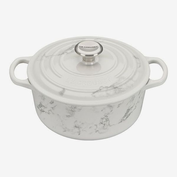 Le Creuset Marble Collection Round Dutch Oven