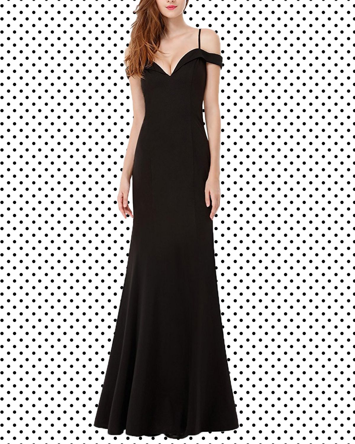 3d93d7bef8b 17 Black Dresses You Can Wear to a Wedding