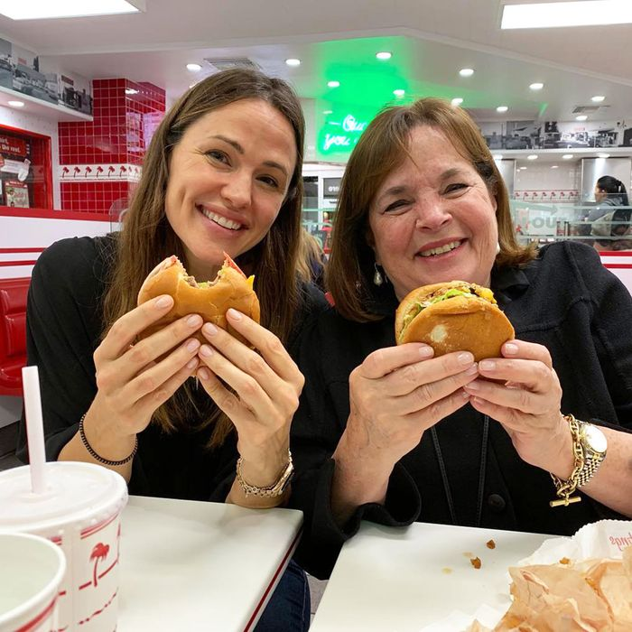 Ina Garten And Jennifer Garner Went For In-N-Out Burgers