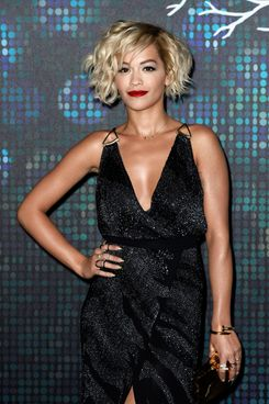 CANNES, FRANCE - MAY 16:  Singer Rita Ora poses prior her performance as she arrives to the Belvedere Vodka's Cannes party featuring a performance from Rita Ora on May 16, 2014 in Cannes, France.  (Photo by Ian Gavan/Getty Images for Belvedere Vodka)