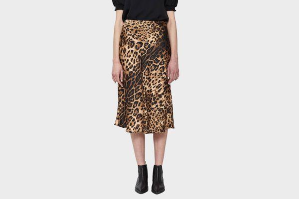Farrow Holly Leopard Print Skirt
