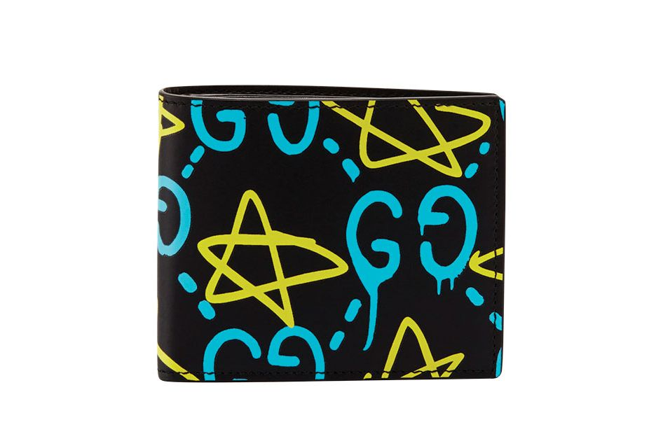 GucciGhost Leather Wallet