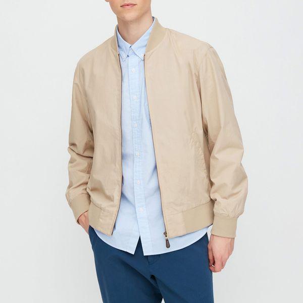 UNIQLO Men's Cotton Ribbed Blouson Jacket