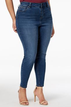 Celebrity Pink Plus Size High Rise Ankle Skinny Jeans