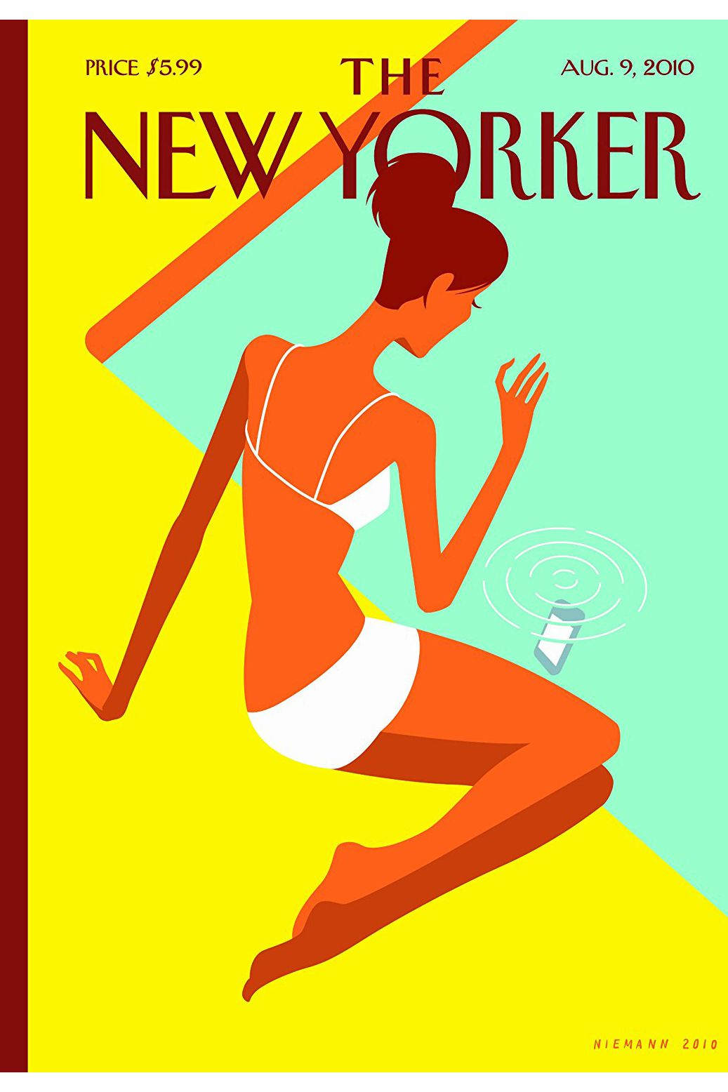 The New Yorker Print Magazine, 1-Year Subscription