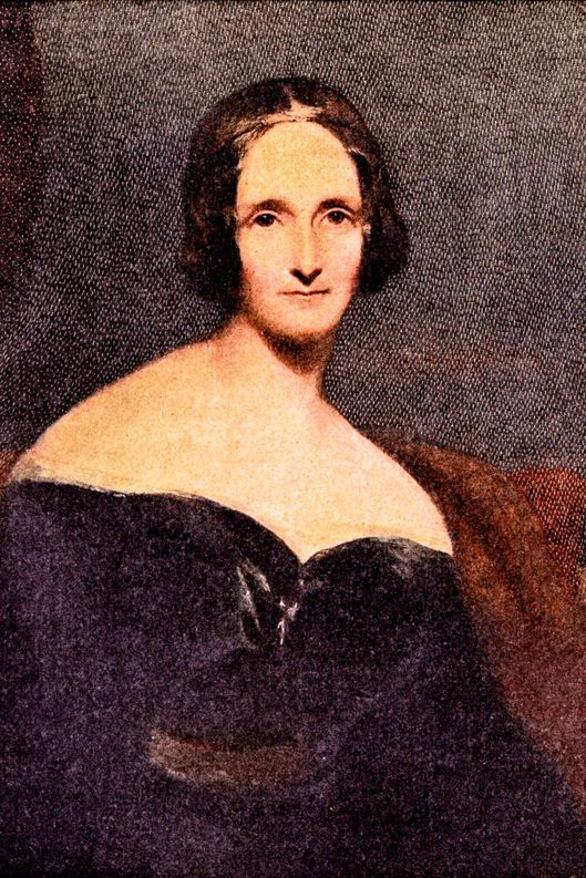 Mary Wollstonecraft Shelley - portrait. British author, 1797 - 1851.  Author of Frankenstein.  Married to Percy B Shelley.  Daughter of Mary Wollstonecraft and William Godwin.  (Photo by Culture Club/Getty Images)