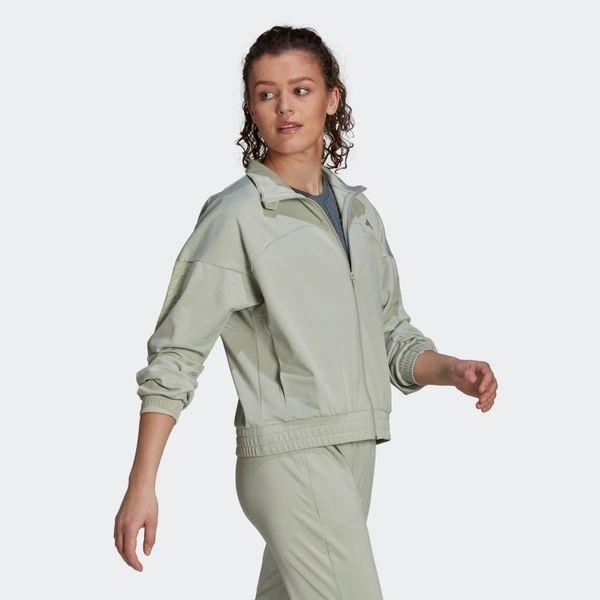Adidas x Zoe Saldana Aeroready Track Jacket