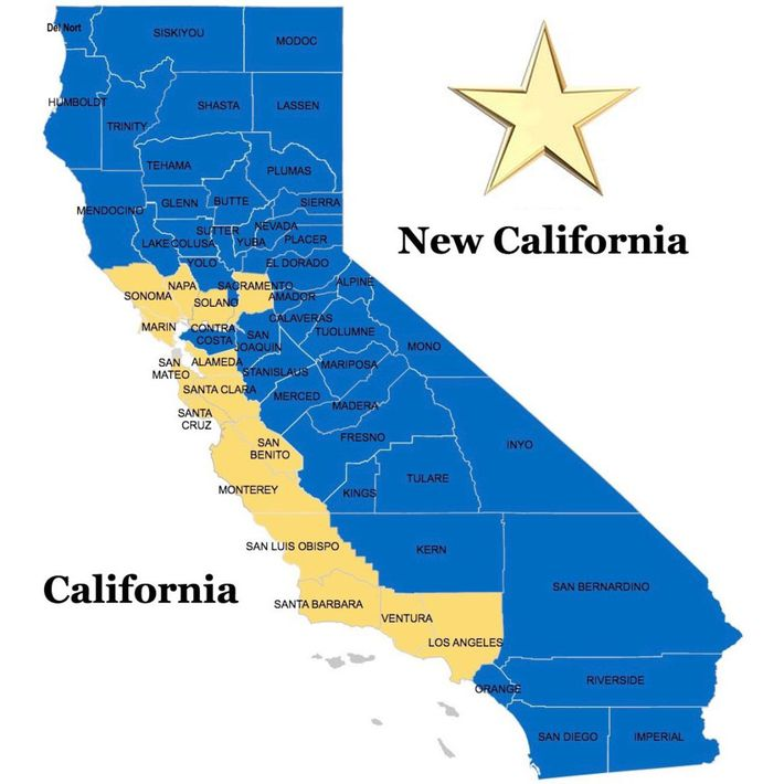 California Map State All Cities