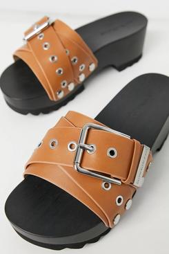 Calvin Klein Jeans Valynda Chunky Mule Sandals