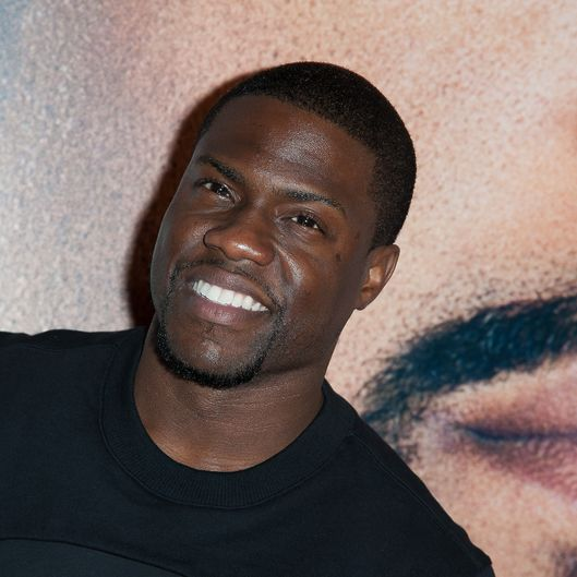 "NEW YORK, NY - JANUARY 15:  Actor Kevin Hart  attends the ""Ride Along"" screening at AMC Loews Lincoln Square on January 15, 2014 in New York City.  (Photo by Dave Kotinsky/Getty Images)"