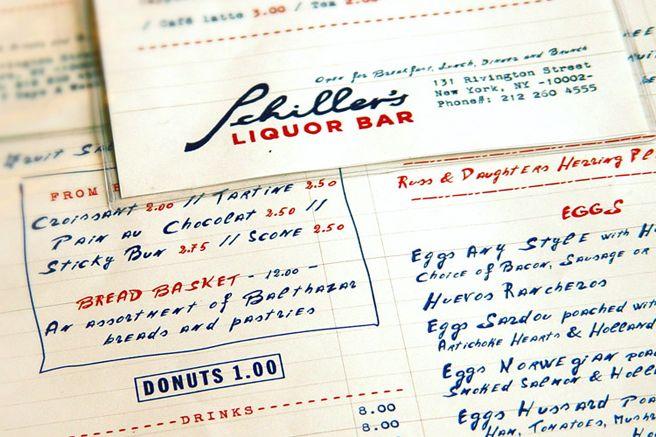 Schiller's menu: hot or not?