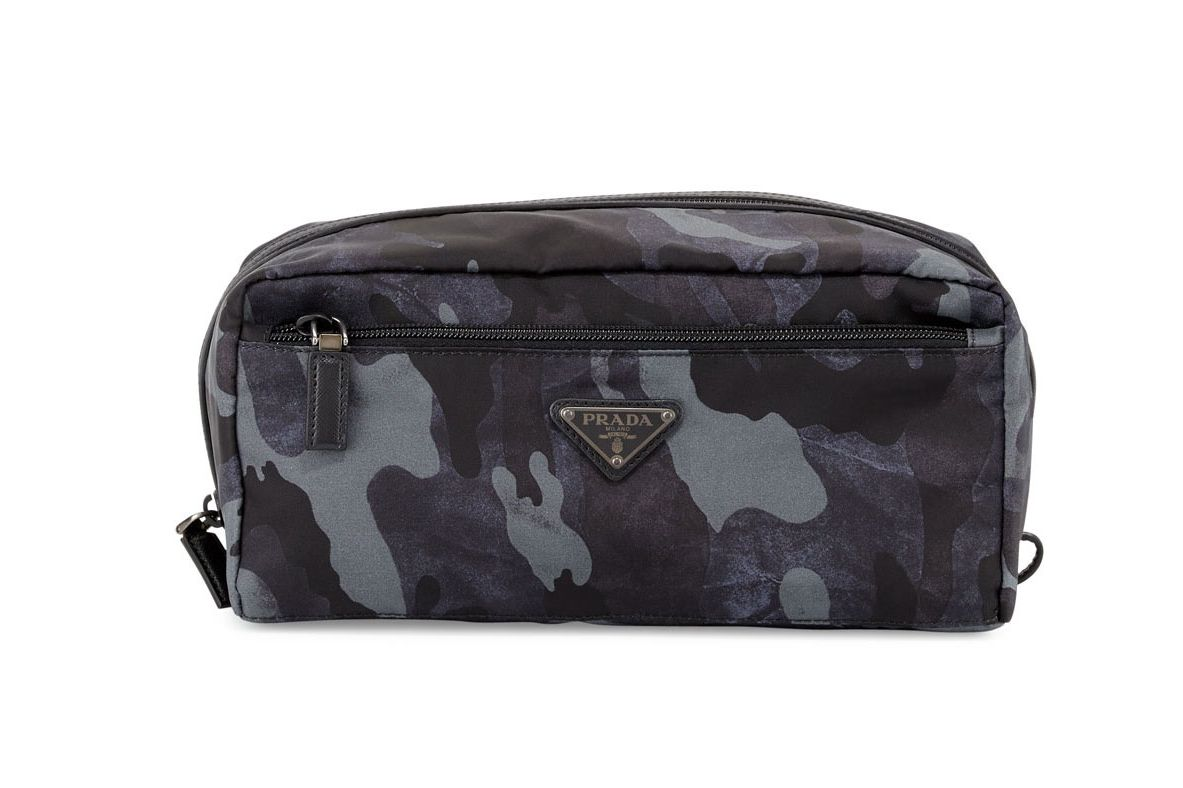 Prada Camo Nylon Toiletry Kit