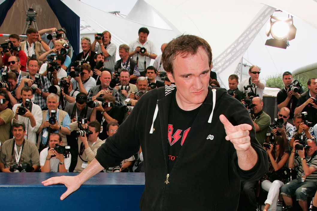 "CANNES, FRANCE - MAY 22:  Director Quentin Tarantino attends a photocall promoting the film ""Death Proof"" at the Palais des Festivals during the 60th International Cannes Film Festival on May 22, 2007 in Cannes, France.  (Photo by Francois Durand/Getty Images) *** Local Caption *** Quentin Tarantino"