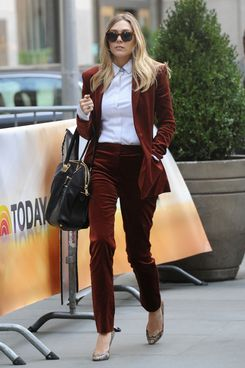 Elizabeth Olsen departs Sirius XM Radio and visits 'The Today Show' in Manhattan. <P> Pictured: Elizabeth Olsen <P> <B>Ref: SPL369071  080312  </B><BR/> Picture by: Doug Meszler / Splash News<BR/> </P><P> <B>Splash News and Pictures</B><BR/> Los Angeles:	310-821-2666<BR/> New York:	212-619-2666<BR/> London:	870-934-2666<BR/> photodesk@splashnews.com<BR/> </P>