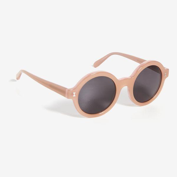 Illesteva Frieda Nectarine Sunglasses