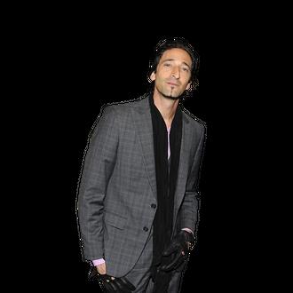 Prada special guest Adrien Brody.