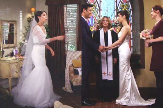 the dress killed her himym s wedding disaster the cut
