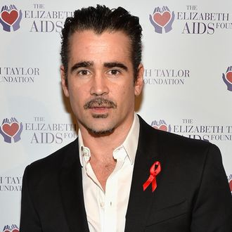 LOS ANGELES, CA - FEBRUARY 27: Actor Colin Farrell attends The Elizabeth Taylor AIDS Foundation Art Auction Benefit Presented By Wilding Cran Gallery on February 27, 2014 in Los Angeles, California. (Photo by Frazer Harrison/Getty Images)