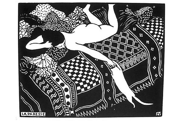 """""""La Paresse,"""" by Felix Valloton"""
