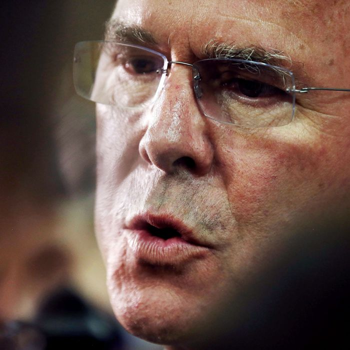 Jeb Bush Holds Student Town Hall At Miami School