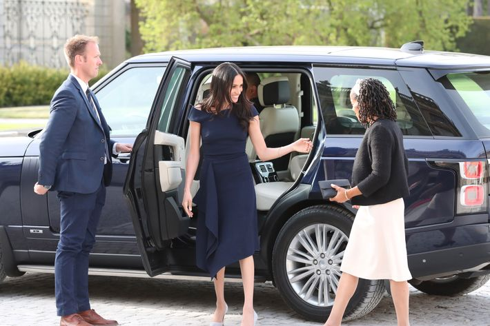 Meghan Markle and Doria Ragland.