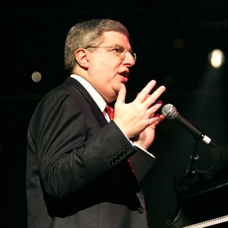 Marvin Hamlisch performs onstage at the 2004 Music Has Power Awards at The Jazz at Lincoln Center's Allen Room November 29, 2004 in New York City