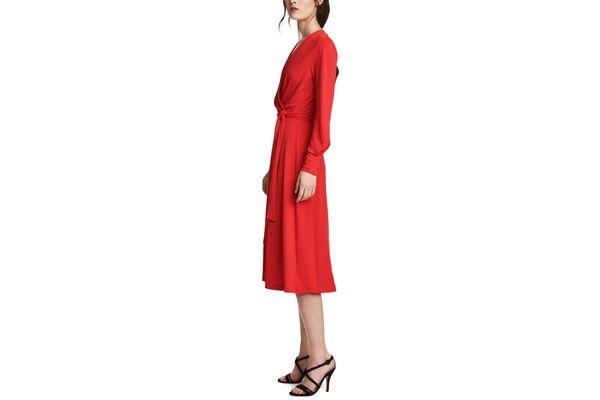 Crêped Jersey Dress