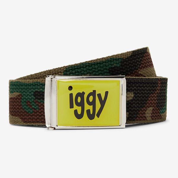 iggy Camouflage-Jacquard Webbing Belt