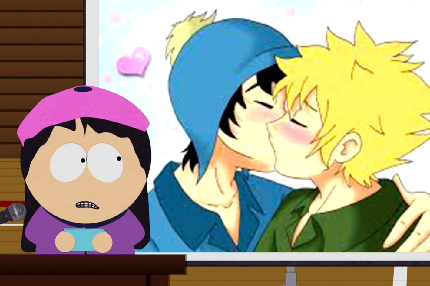 How Gay Themed South Park Fan Art Wound Up On The Show