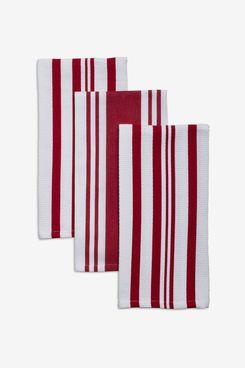 Sur La Table Striped Kitchen Towels (Set of 3)