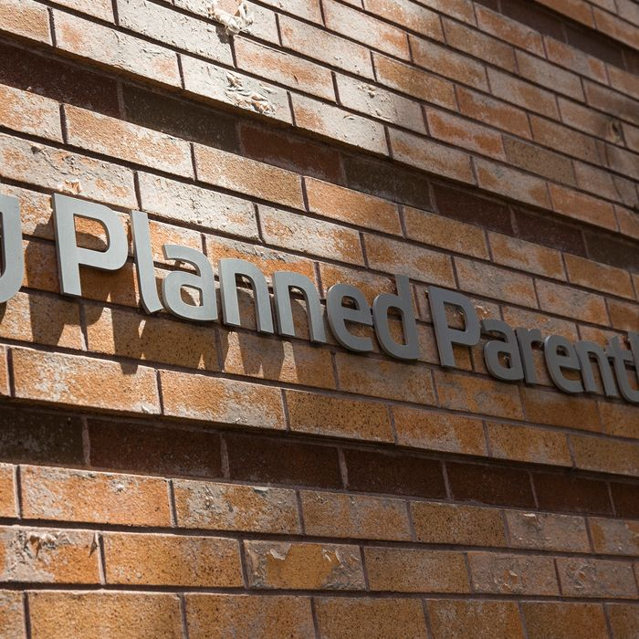 Planned Parenthood is here for you on your phone. Photo by Andrew Burton/Getty Images