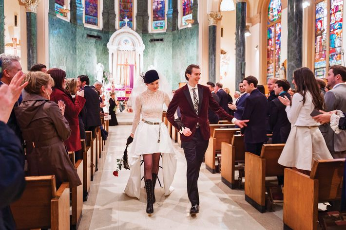 Nymag Real Weddings: Real Wedding Album: A Nontraditional Production With A Hip